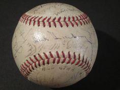 AdoreWe - SportsMemorabilia.com 1939 All Star Team Signed Baseball Joe Dimaggio Jimmie Foxx Greenberg Jsa Sgc - AdoreWe.com