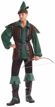 Robin Hood Gents Fancy Dress Costume