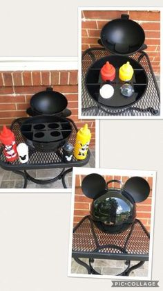 Mickey mouse condiment caddy by hollie Mickey Mouse House, Mickey Mouse Kitchen, Mickey Mouse And Friends, Disney Mickey Mouse, Minnie Mouse, Disney Diy, Casa Disney, Disney House, Disney Stuff