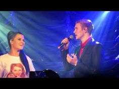 Saara & Ari sing Con Te Partiro ( Time To Say Goodbye ) The song made famous by Andrea Bocelli & Sarah Brightman. Ari Olafsson will sing the Eurovision song . London Bridge, Concert, Music, Youtube, Musica, Recital, Musik, Music Games, Youtubers