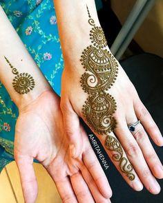 Henna Tattoo Designs Simple, Mehndi Designs Book, Full Hand Mehndi Designs, Modern Mehndi Designs, Mehndi Design Pictures, Mehndi Designs For Beginners, Bridal Henna Designs, Mehndi Designs For Girls, Indian Mehndi Designs