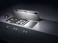 Gaggenau Table ventilation. Available from German Kitchens Limited in Wellington, NZ