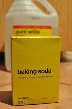 cleaning with 3 ingredients from your kitchen - been doing this a while & works great