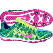Neon Track Spikes   ... Nike 'Rival MD 6 Sprint Track Shoes sz 8 WHITE PEARL running 1500m