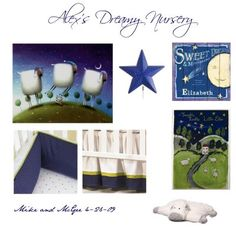 Alex's Dreamy Nursery from Mike and McGee