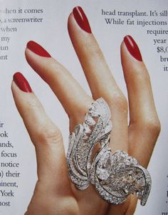 De Beers diamond ring