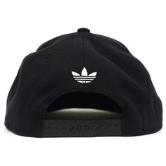 Adidas Thrasher Snapback (Black White) Hat ( 26) ❤ liked on Polyvore  featuring accessories 4693256bf282