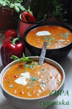 Zupa cygańska - Damsko-męskie spojrzenie na kuchnię