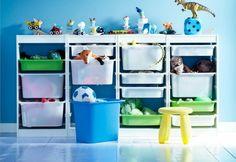 15 стильных и необычных способов хранить игрушки — Журнал — MyHome