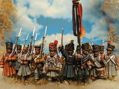28 mm Warlord french infantry Painted by Francesco Thau