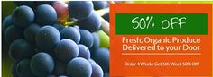 Organic Fruit & Veggie Club - Discount! https://www.facebook.com/OrganicsNewYork?ref=stream
