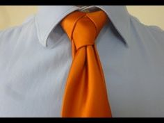 Want your necktie to feel like a super hero.  Try out the Cape knot and go save a cat in a tree.  I make how to videos on tying cool necktie knots.  Check it out.