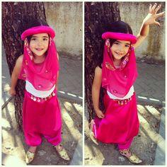 arabian princess tutorial