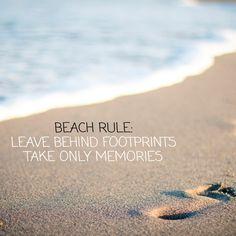 leave only footprints. Beach Bum, Ocean Beach, Beach Memes, Somewhere On A Beach, Sea Quotes, I Love The Beach, Wear Sunscreen, Beautiful Beaches, Surfing