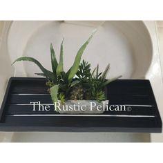 Rustic Bathtub Tray, Bathtub Caddy, Wooden Tub Tray, Claw Foot Bathtub... ($119) ❤ liked on Polyvore featuring home, kitchen & dining, serveware, wooden serveware, tub caddy, wooden serving trays, wooden trays and wood trays