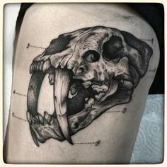 smilodon tattoo - Google Search
