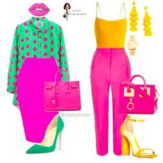 Color blocking is life. another fashion board in 2019 летняя Fashion Mode, Work Fashion, Curvy Fashion, Fashion Looks, Fashion Outfits, Womens Fashion, Fashion Trends, Full Figure Fashion, Spring Fashion