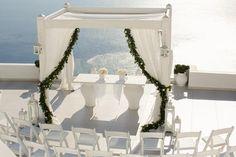 Wedding ceremony- Dana Villas Santorini