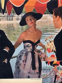 Jacques Fath 1954 Fashion Photography Kazan