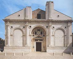 Templo Malatestiano, Alberti, 1450. O gosto ou culto pelo inacabado.