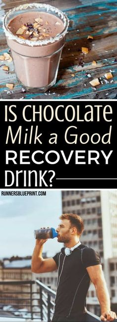 Workout Recovery Science - Why Chocolate Milk After a Run? Post Workout Nutrition, Fitness Nutrition, Health And Nutrition, Best Recovery Drink, Recovery Food, After Workout Drink, Post Workout Drink, Chocolate Milk After Workout, Best Post Workout