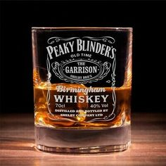 Perfect gift for a loved one who is a Peaky Blinders fan. Whiskey Gifts, Cigars And Whiskey, Whiskey Glasses, Whiskey Bottle, Peaky Blinders Gifts, Peaky Blinders Poster, Garrison Pub, Wooden Crate Boxes, Birmingham