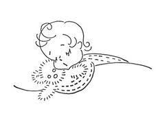 Image result for Embroidery designs for baby The Old Fashioned Baby pattern