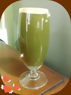 Apple Cucumber Celery Romaine Juice (used 1 head romaine, 2 apples, 1 cucumber, 2 stalks celery