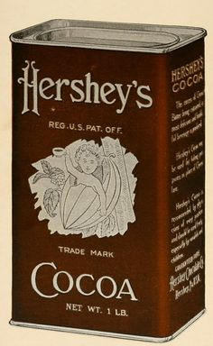 Hershey's Trade Mark Cocoa Tin