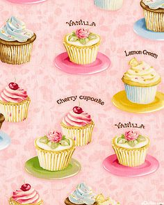 Confections - Cupcake Bakery - Candy Pink