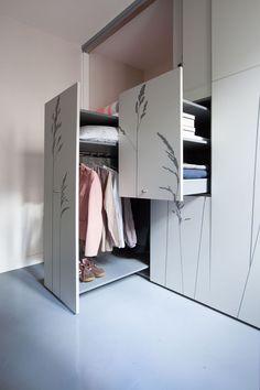 Невероятно маленькая квартира в Париже | Про дизайн|Сайт о дизайне интерьера, архитектура, красивые интерьеры, декор, стилевые направления в интерьере, интересные идеи и хэндмейд