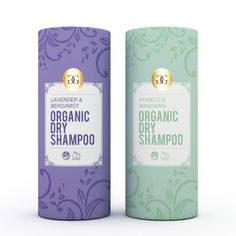 Please create a eco friendly/chic/green/luxurious label for Organic Dry Shampoo product. by albowie.design