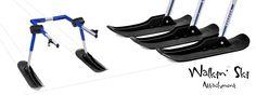 Walkin' Ski Attachment Banner