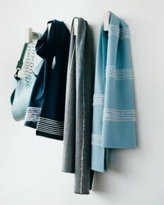 """See the """"Needle-Felted Scarves with Yarn Stripes"""" in our Handmade Gifts for Her gallery"""