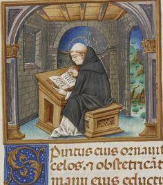 Thomas de Aquini , Super secundo libro Sententiarum Auteur : Majorana, Cristoforo (14..-14..). Enlumineur Auteur : Thomas Aquinas (saint ; 1225?-1274). Auteur du texte Date d'édition : 1489 Type : manuscrit Langue : Latin