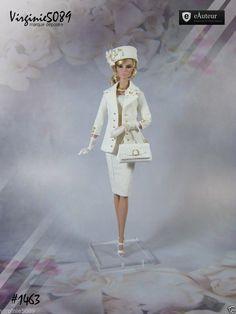 Tenue Outfit Accessoires Pour Fashion Royalty Barbie Silkstone Vintage 1463 | eBay