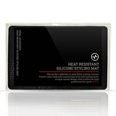 Elevated Heat Resistant Silicone Styling Mat for curling irons, flat irons, straightening brushes, and other heated hair styling tools ** Hope you do enjoy the image. (This is our affiliate link) Curling Iron Tips, Curling Iron Holder, Good Curling Irons, Ceramic Straightening Brush, Hair Straightening Iron, Flat Iron Tips, Flat Iron Waves, Ceramic Brush, Curling Iron Hairstyles