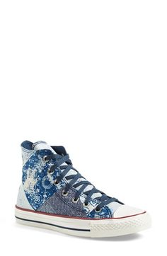 Converse Chuck Taylor® All Star® 'Multi Bandana' High Top Sneaker (Women) available at #Nordstrom