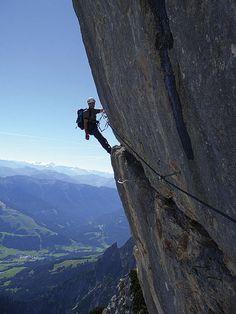 Klettern Cardio wirkt zur Gewichtsreduktion