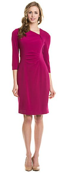 Beautiful Berry Colored Dress http://rstyle.me/n/e6hkmr9te