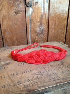 vintage braided rope belt.. with a maxi dress?