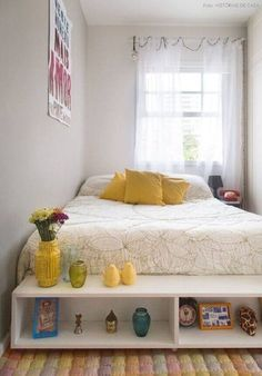 Small Bedroom Ideas – Seeing to it that clutter is off of the flooring is something that goes a long method when you are taking into consideration brand-new tiny bedroom . Small Space Bedroom, Small Bedroom Designs, Small Room Decor, Small Room Design, Decorating Small Spaces, Small Bedrooms, Master Bedrooms, Decorating Ideas, Decor Ideas