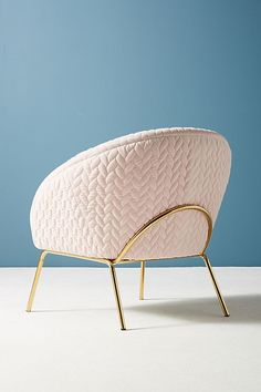 Slide View: 5: Quilted Hillside Accent Chair