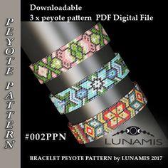 peyote bracelet pattern peyote pattern odd count stitch