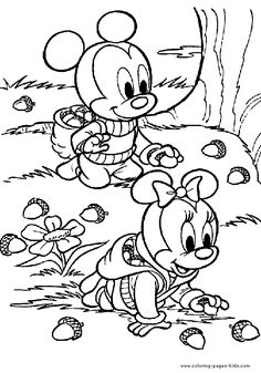 Here Is A Small Collection Of Autumn Coloring Fall Pages Printables For Your Kid