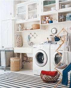 2 Brown Eyed Beauties: Laundry Room Inspiration