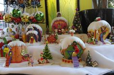 display dept 56 grinch village how to display - Google Search