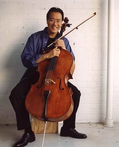 Yo-Yo Ma - Ryan and I saw him at the Van Wezel. Excellent!