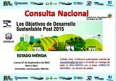 https://flic.kr/p/yDuxMq | #Mérida: CONSULTA NACIONAL OBJETIVOS DE DESARROLLO SUSTENTABLE #POST2015 @uniandesac