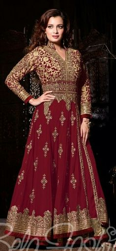 Adorable dress available in 4 colors: maroon beige, blue & green
